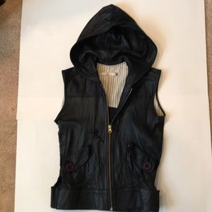 Mike & Chris Leather Vest